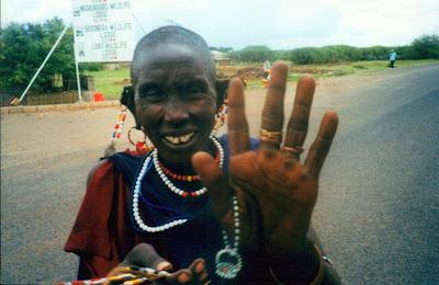Mujer Masai. Tanzania