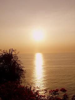 Sunset en Ayampe
