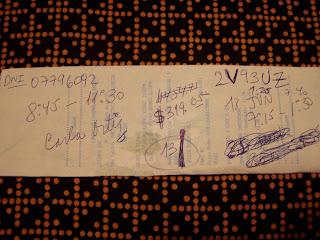 Aquí empezó todo: en un ticket de Pizza Hut