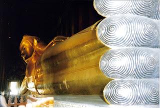 Buda echado, Wat Po, Bangkok