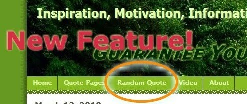 Random quotes and sayings page
