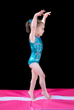 Our little gymnast