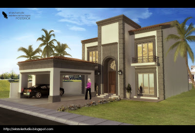 Los lagos residencial for Fachadas de casas modernas en hermosillo