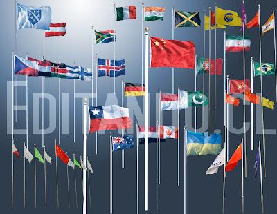 banderas PSD