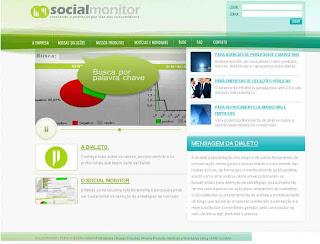 Social Monitor monitora o que os internautas falam sobre uma marca, produto ou serviços nas redes sociais da Internet