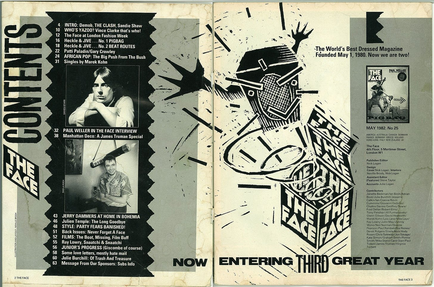 Kingy Graphic Design History Roxy 1980 39 S The Face