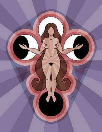 La diosa y las lunas