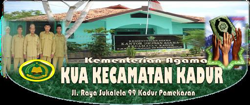 Kantor Urusan Agama (KUA) Kec. Kadur Kab. Pamekasan