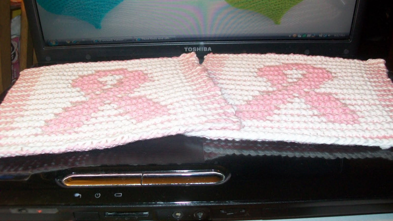 My Crocheted and Knitted Items: Moms Ovarian Cancer Awarness Ribbon ...