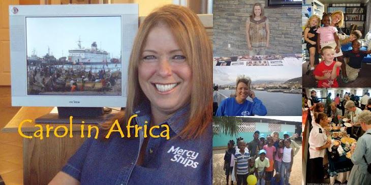 Carol in Africa