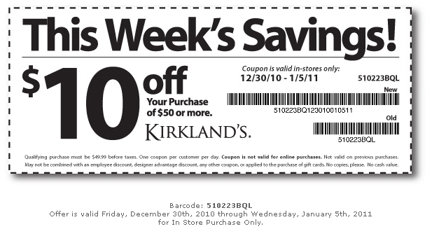 Alicia s deals in az kirklands hobby lobby and michael s coupons