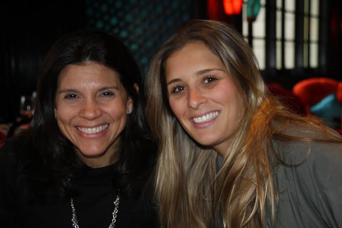 Jill e Marcela...as responsaveis pelo almoco!