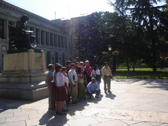 LATINOAMERICANOS EN MADRID, ENTRE RISA SANDUNGUERA Y VISITA ALBOROZADA