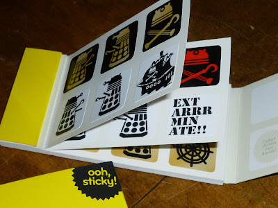 dalek pirate stickers