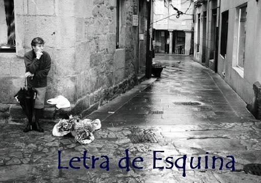 Letra de Esquina
