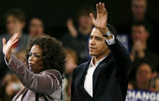 Oprah and Obama - vapid