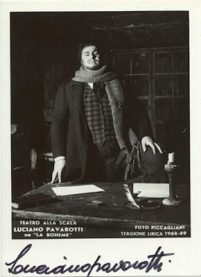 Pavarotti in 'La Boheme' 1968