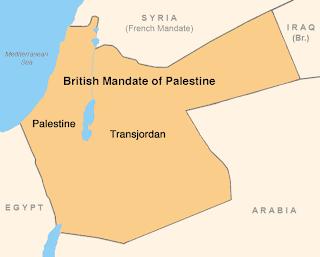 British Mandate Palestine 1920