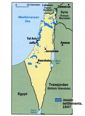 Israel during the British Mandate 1920 - 1948