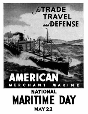 Maritime Day poster - WWII