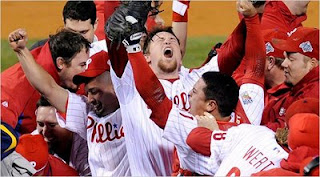 Phillies celebrate