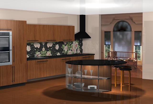 Diseño muebles de cocina Diseño de cocina (Azulejos Victorio
