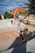Skate - Treino na mini rampa
