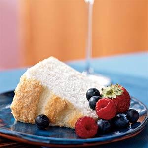 Linda LaRue Blog: Red, White & Blue Angel Food Cake