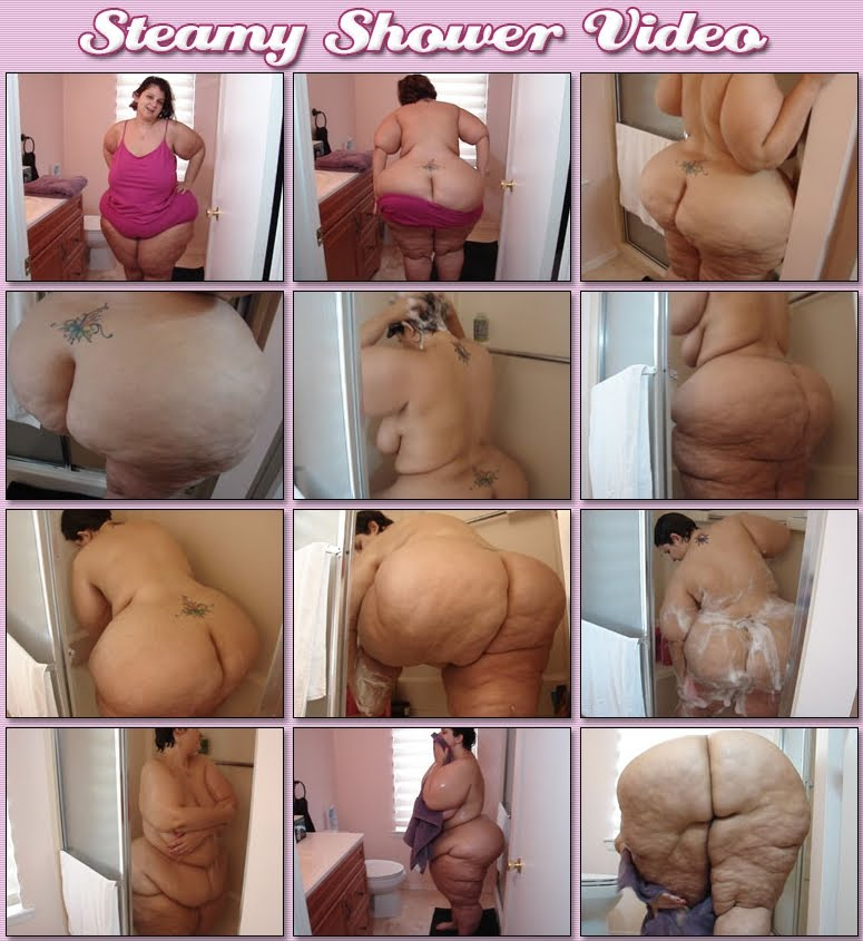 Ssbbw asshley shower