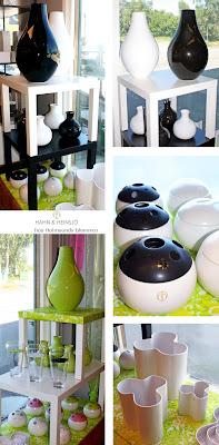 Hahn & Heinsjö, vaser och skålar