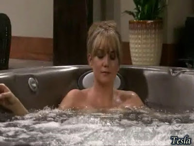 To Video clip of Megyn Price nude in Hot Tub!