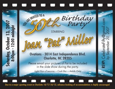 about kim kardashian: 50th birthday party invitations