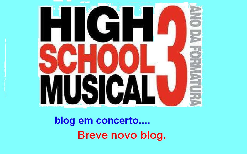 "High school musical 3 2009 ""O MELHOR BLOG DO HSM""..."