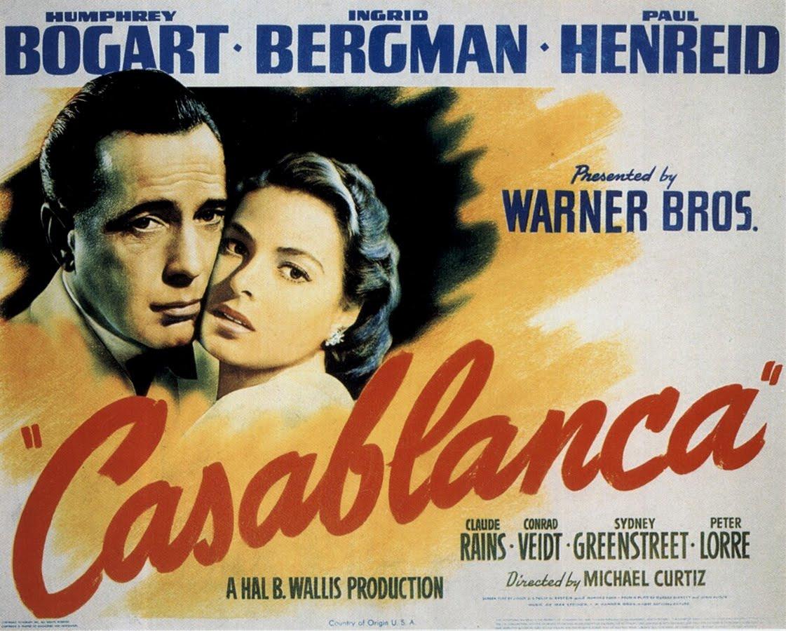 Movie posters casablanca 1942 for Poster casablanca