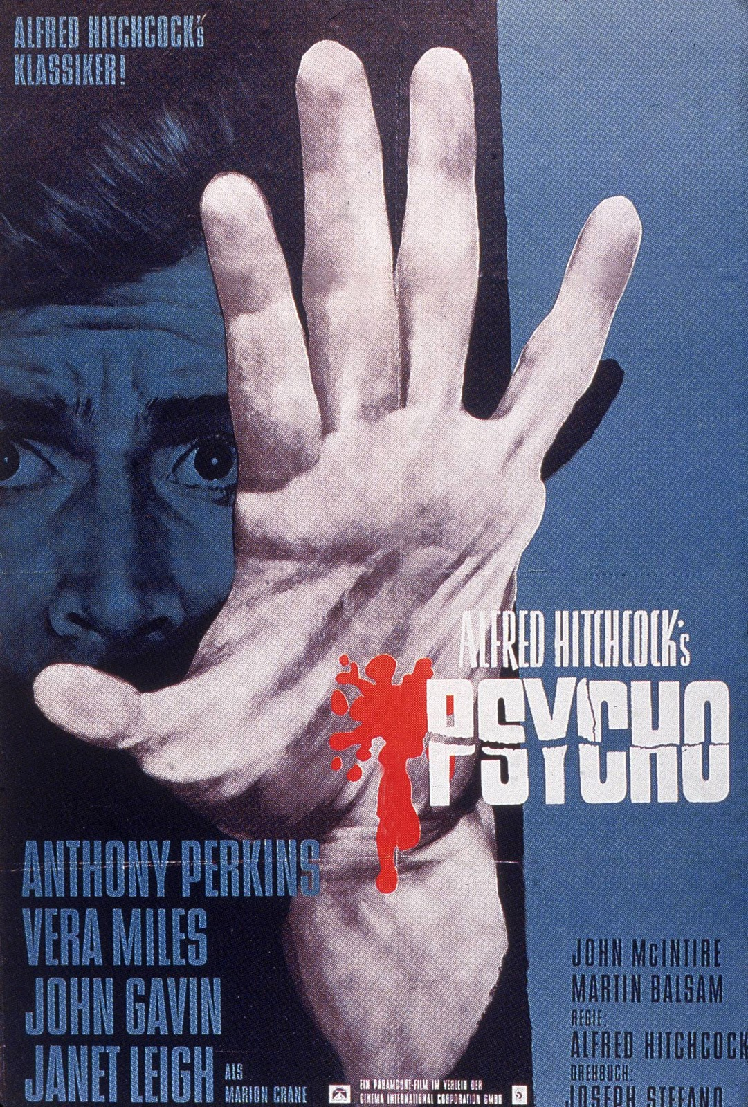 M Letter In Heart MOVIE POSTERS: PSYCHO ...