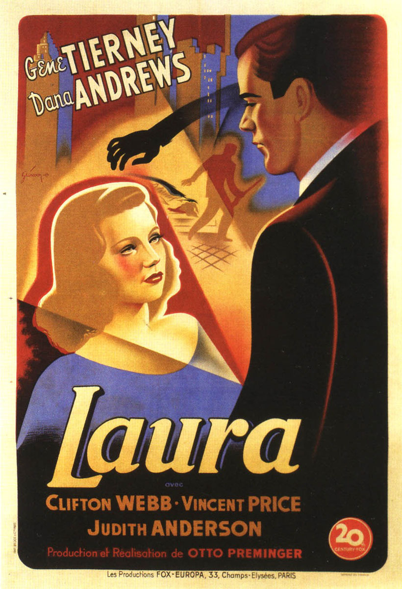 Laura | Watch movies online, download movies for free (HD, mp4, avi ... Dana Andrews