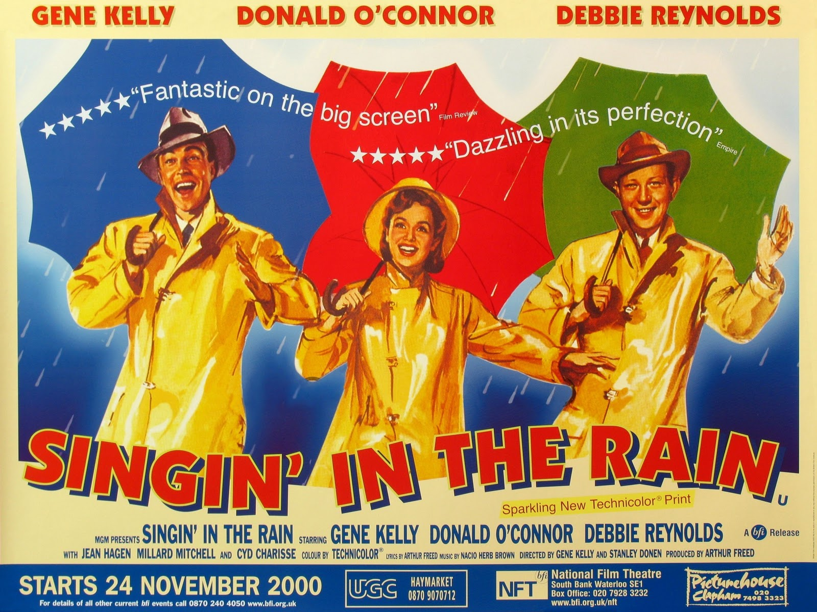 movie posters singin in the rain 1952