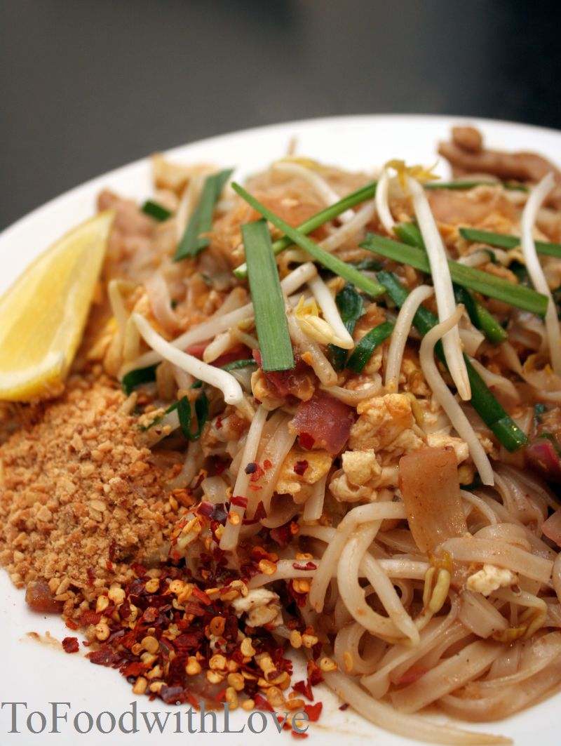 To Food with Love: Chicken Pad Thai