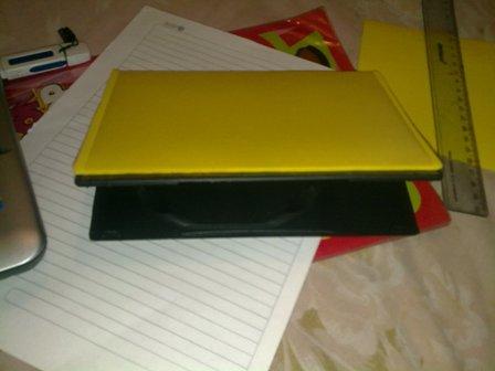 ... de dibujar sobre el corrospum hice la prueba sobre una hoja de papel
