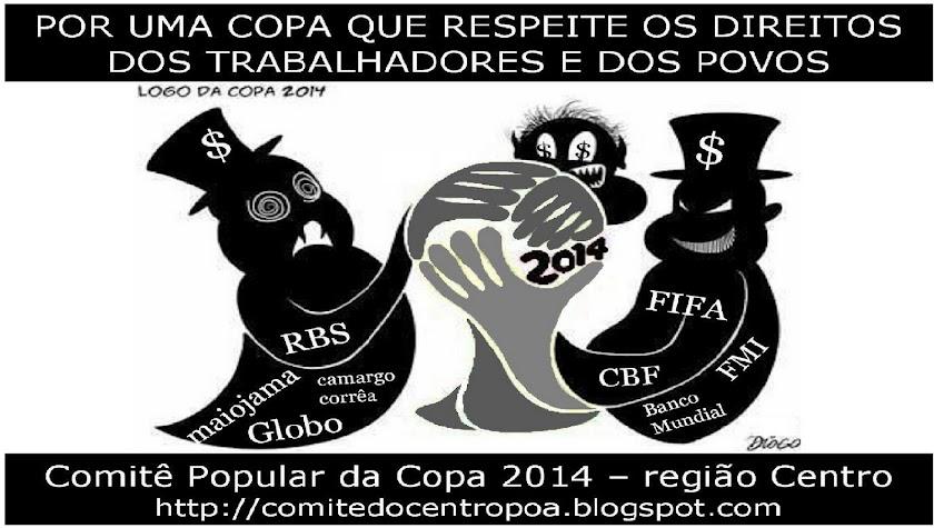 COMITÊ POPULAR DA COPA - REGIÃO CENTRO