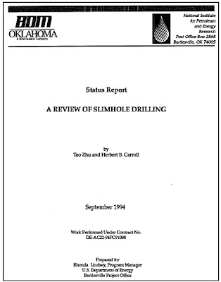 A Review Of Slimhole Drilling