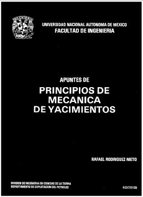 Principios de Mecánica de Yacimientos por Rafael Rodrigues