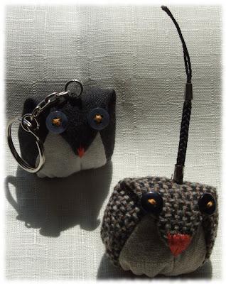 breloczek sowa moonstitches owl