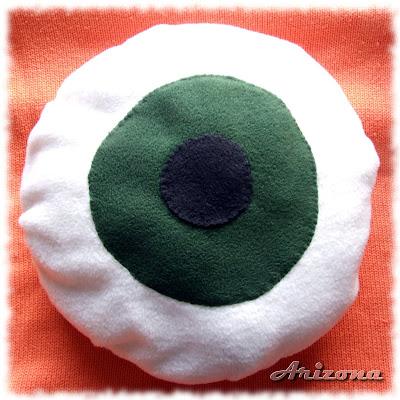 poduszka z polaru felt pillow