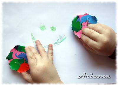 handmade crayons