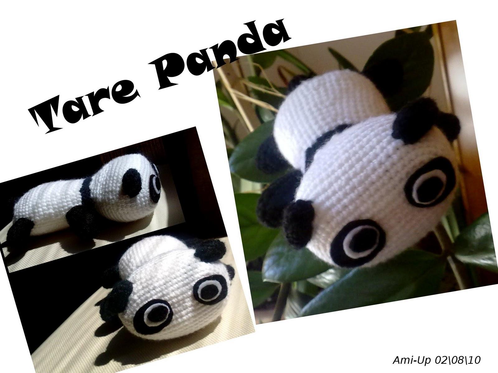 Amigurumi Tarepanda : Ami-Up: Tare Panda