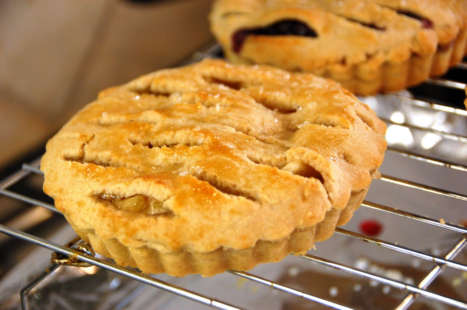 how to make apple pie tarts