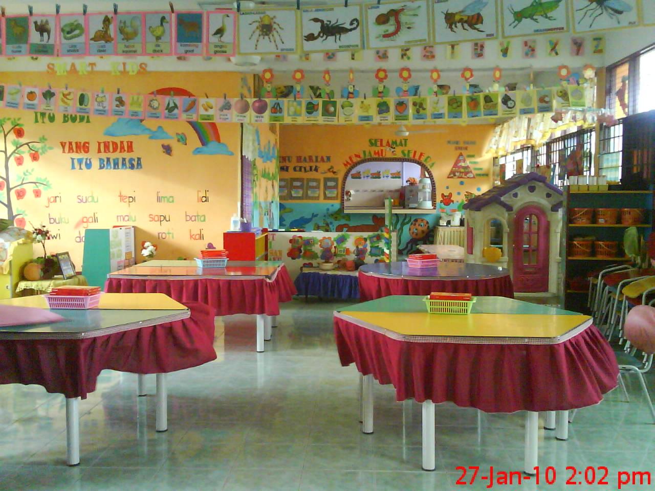 Cikgu eela il preschoolers pce yang lama tukar baru for Contoh lukisan mural tadika