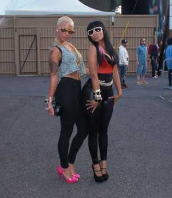 Luxury Vixen Alert: Amber Rose & Nicki Minaj