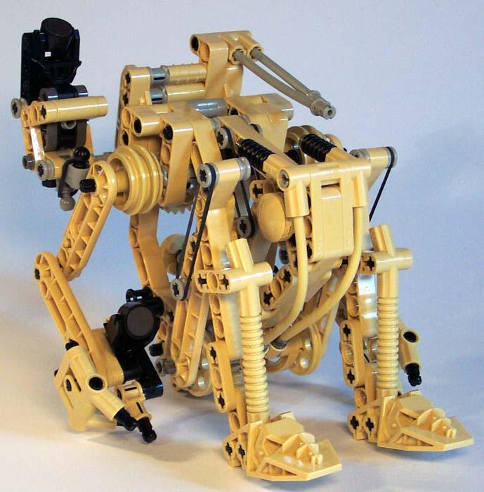 lego technic battle droid instructions